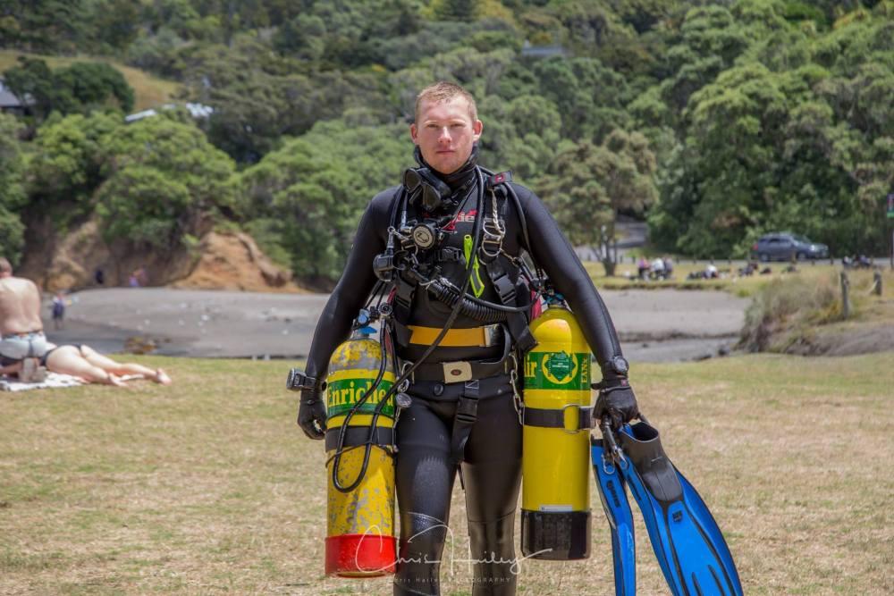 PADI Sidemount Diver Expert - Jono Francis
