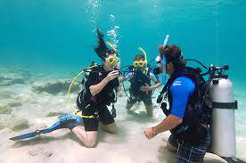 Certification in Scuba Diving - Instruction