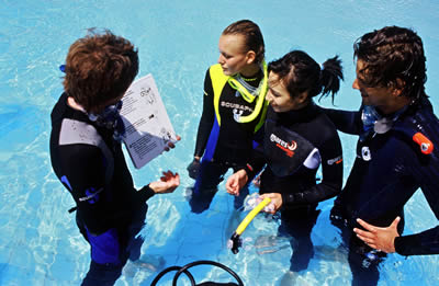 Diploma in Professional Scuba Instruction
